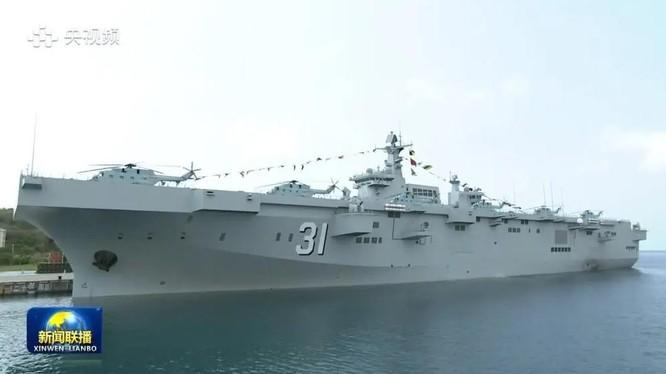 Tàu đổ bộ tấn công Type-075 (Hải Nam) - Ảnh chụp màn hình Naval News