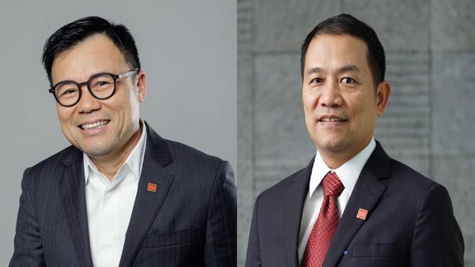 Ông Nguyễn Duy Hưng (trái) và ông Nguyễn Hồng Nam (Nguồn: SSI)