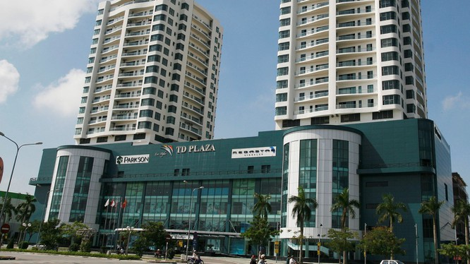 Trung tâm thương mại Parkson TD Plaza tại Hải Phòng (Nguồn: Google)