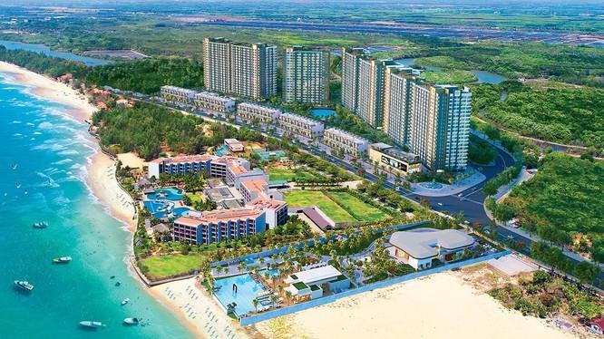 Tổng quan dự án Tổ hợp dịch vụ thương mại du lịch và khu nhà ở Sông Ray (Nguồn: hungthinhland.com)