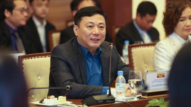 Ông Nguyễn Tuấn Hải - Chủ tịch HĐQT Alphanam Group (Nguồn: flc.vn)