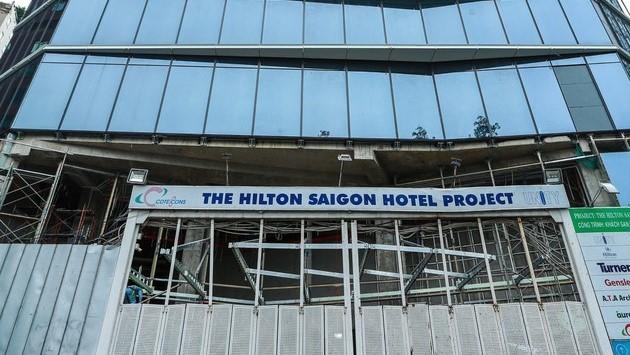 Dự án khách sạn Hilton Saigon (Nguồn: Internet)