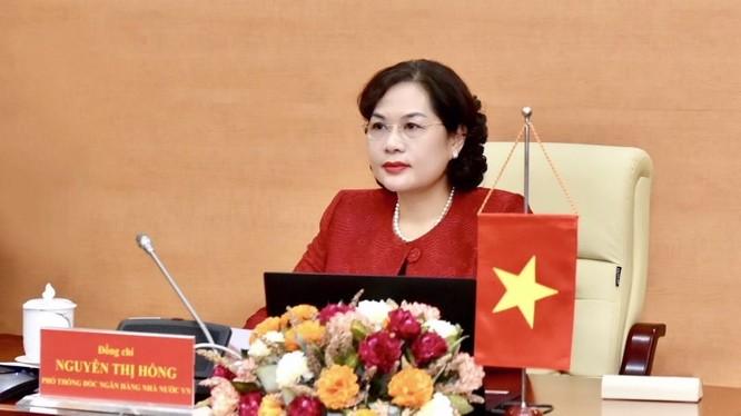 Bà Nguyễn Thị Hồng, Thống đốc NHNN Việt Nam (Nguồn: sbv.gov.vn)