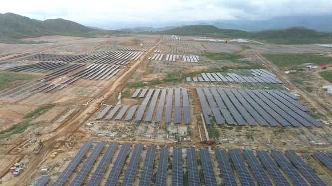 Dự án Nhà máy điện mặt trời KN Vạn Ninh (Nguồn: licogi16.vn)