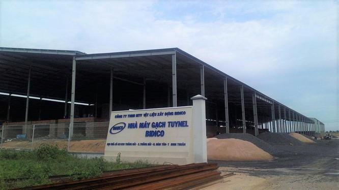 Nhà máy gạch tuynel Bidico tại Bình Thuận (Nguồn: Internet)