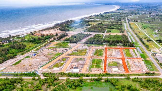 Một phân khu của dự án Thanh Long Bay (Nguồn: Nam Group)