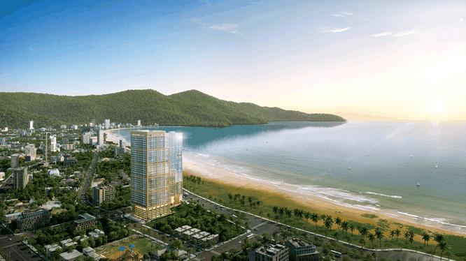 Phối cảnh dự án Premier Sky Residences tại Đà Nẵng (Nguồn: premiersky.vn)