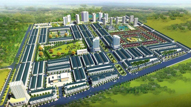 Phối cảnh dự án Khu công nghiệp Thuận Thành 3, phân khu B (Nguồn: Internet)