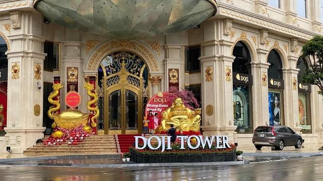 Doji Tower toạ lạc tại số 5 Lê Duẩn, Hà Nội (Nguồn: Internet)