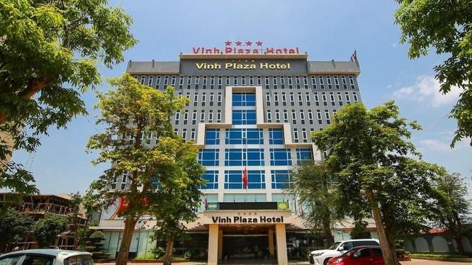 Khách sạn Vinh Plaza tại TP. Vinh, tỉnh Nghệ An (Ảnh: vinhplazahotel.com.vn)