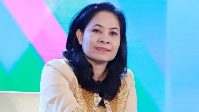 Bà Ninh Thị Bích Thùy - Tổng giám đốc CTCP Thép TVP (Ảnh: tvpsteel.vn)