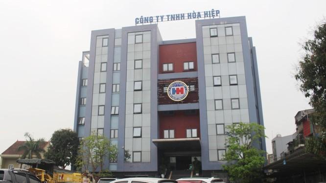 Trụ sở chính của Hòa Hiệp tại số 104 Nguyễn Sinh Sắc, TP. Vinh (Ảnh: Internet)