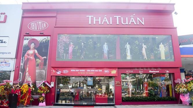 Một showroom của Thái Tuấn (Ảnh: Thái Tuấn Fashion)