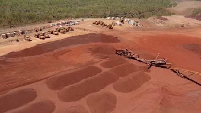Mỏ quặng sắt Roper Valley có trữ lượng ước tính đạt 320 triệu tấn (Ảnh: Hòa Phát)