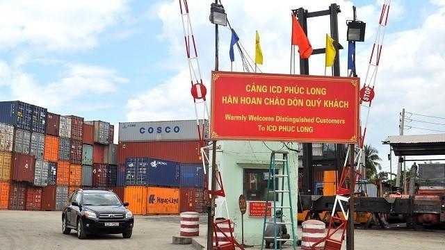Cảng ICD Phúc Long tại TP. Thủ Đức, TP. HCM (Ảnh: Giang Nam Logistics)