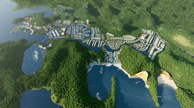 Phối cảnh dự án Cát Bà Amatina tại Hải Phòng (Nguồn: Internet)