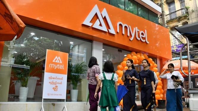 Mytel tại thị trường Myanmar (Nguồn: Internet)