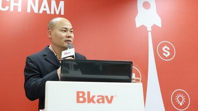 Ông Nguyễn Tử Quảng - Chủ tịch HĐQT CTCP Bkav (Nguồn: Bkav)