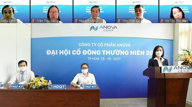 Đại hội cổ đông thường niên 2021 của Anova Corp (Nguồn: Internet)
