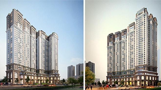 Phối cảnh dự án Ngọc Linh Plaza (Nguồn: Vina 2)