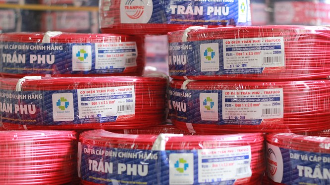 Sản phẩm dây cáp điện của Trần Phú Cable (Nguồn: Trần Phú Cable)