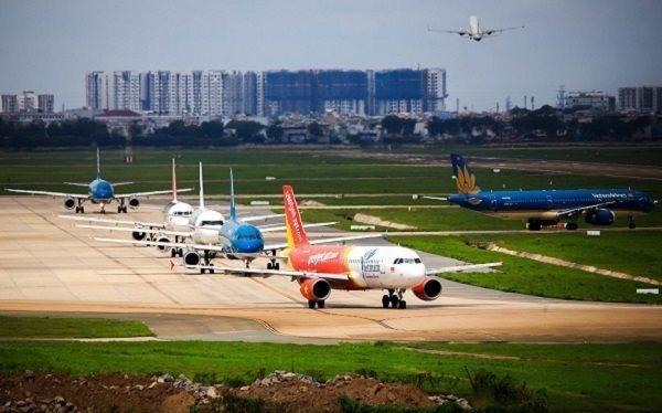 Doanh nghiệp hàng không đang cần một cơ chế vay vốn cấp bách để giải quyết thanh khoản trong ngắn hạn. Ảnh minh họa: TTXVN