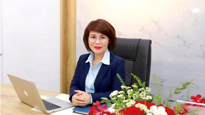 Bà Dương Thị Lệ Hà - Quyền Tổng Giám đốc NCB (Nguồn: NCB)