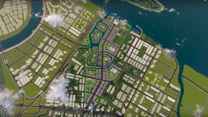 Phối cảnh dự án Khu đô thị Nam Cần Thơ (Nguồn: CEO Group)