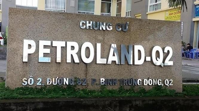 Một dự án chung cư của Petroland tại Tp. HCM (Nguồn: Internet)