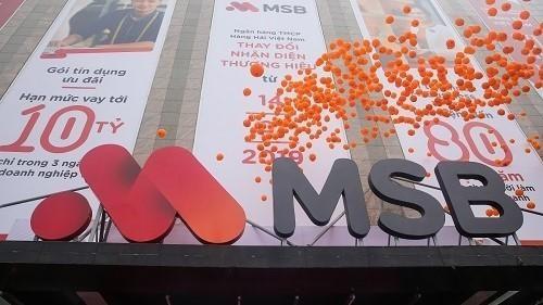MSB chia cổ tức bằng cổ phiếu với tỉ lệ 30% (Ảnh: MSB)