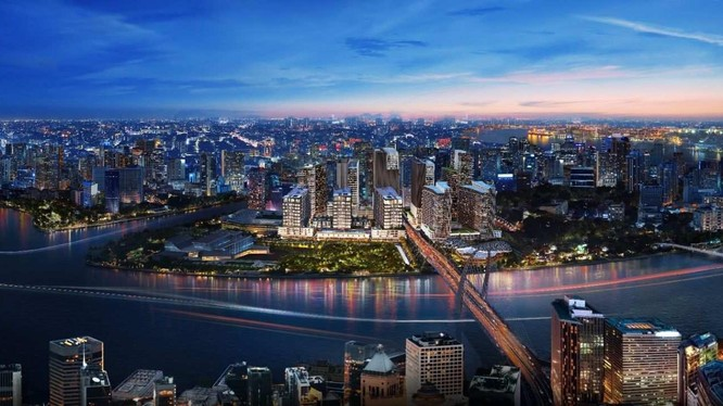 Phối cảnh dự án Khu phức hợp Sóng Việt - The Metropole Thủ Thiêm (Nguồn: Internet)
