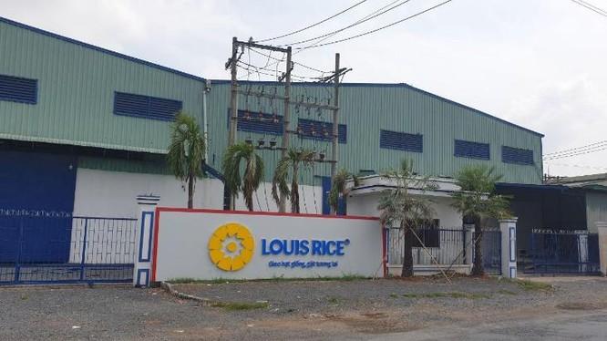 Một nhà máy sản xuất lúa gạo thương hiệu Louis (Nguồn: louisrice.vn)