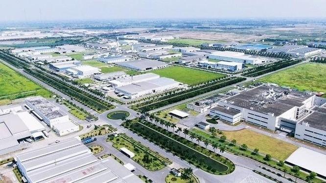 Một khu công nghiệp tại tỉnh Hưng Yên (Ảnh minh họa - Nguồn: Internet)