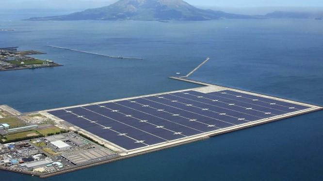 Một dự án điện mặt trời nổi (Ảnh minh họa - Nguồn: Internet)