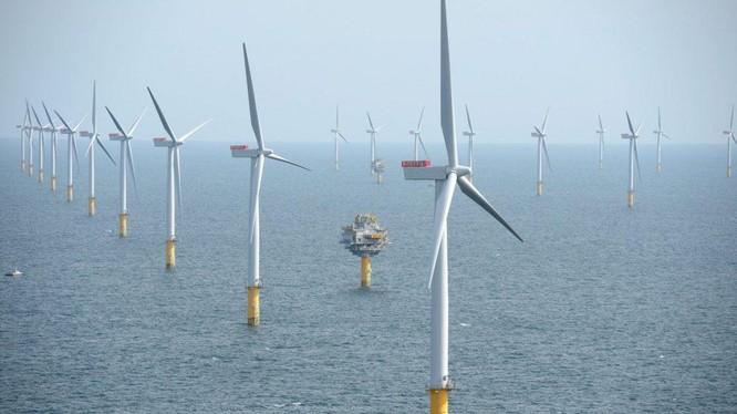 Điện gió ngoài khơi (Ảnh minh họa - Nguồn: Internet)