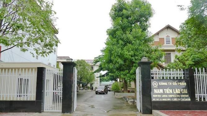 Trụ sở chính của Nam Tiến Group tại Tp Lào Cai (Ảnh: Internet)