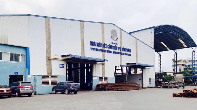 Nhà máy thép kết cấu IPC Hải Phòng (Nguồn: IPC)