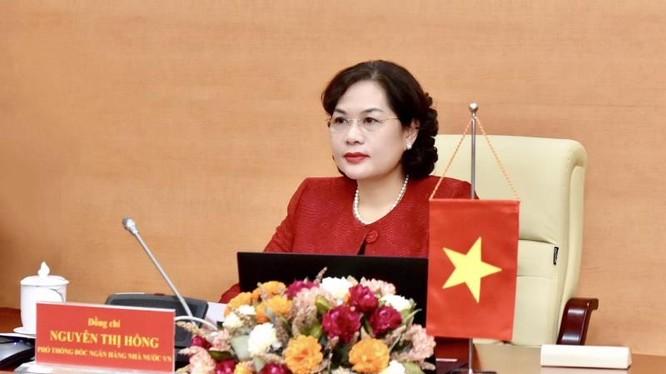 Bà Nguyễn Thị Hồng, Thống đốc Ngân hàng Nhà nước Việt Nam (Nguồn: SBV)