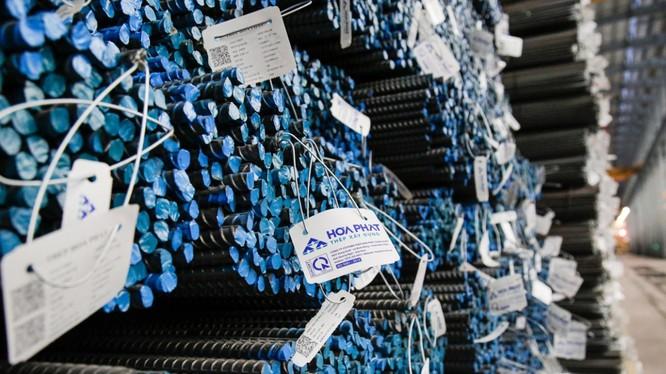 Tháng 9, Hòa Phát tiêu thụ 327.000 tấn thép xây dựng, tăng 22% so với tháng 8 (Ảnh: HPG)