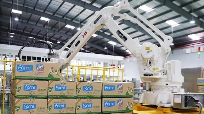Thị phần sữa đậu nành của QNS đã tăng lên 91% trong tháng 8/2021 (Ảnh: Internet)