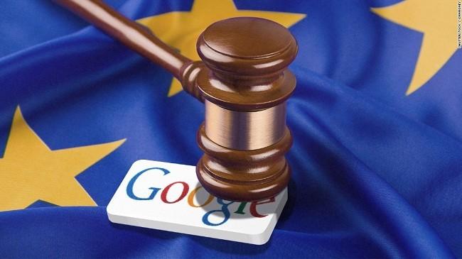 Google đã kháng cáo án phạt kỷ lục 2,4 tỷ Euro từ EU (ảnh: CNN)