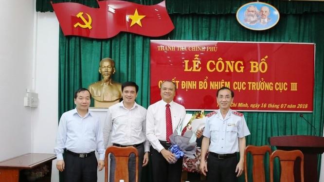 Lễ trao Quyết định bổ nhiệm ông Trần Văn Mây. Ảnh: TTCP