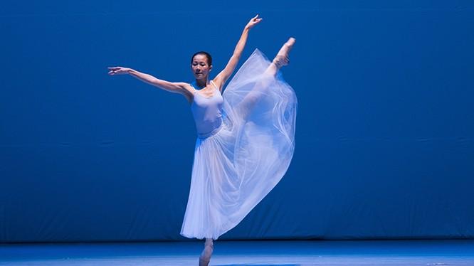Nghệ sĩ ballet Trần Hoàng Yến.