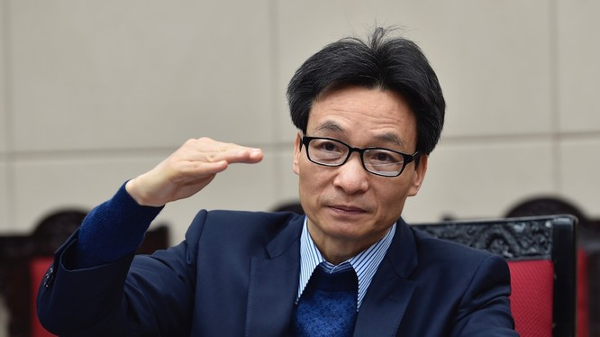 Phó Thủ tướng Vũ Đức Đam nhấn mạnh tại tọa đàm về KHCN trong thời kỳ Cách mạng 4.0 (Ảnh VGP/Nhật Bắc)