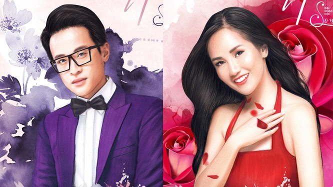 Nam ca sĩ Hà Anh Tuấn và diva Hồng Nhung