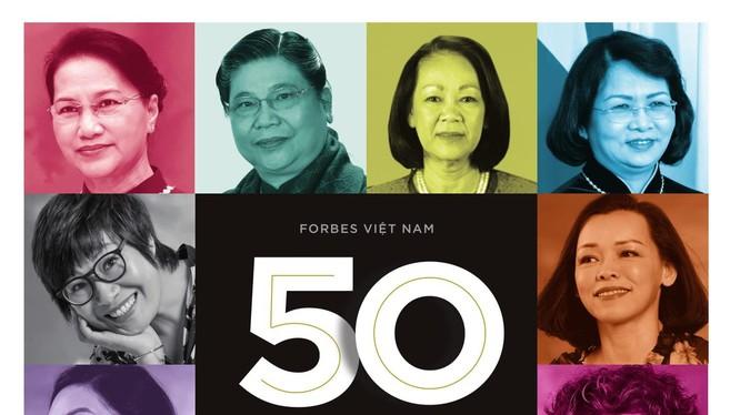 Top 50 người phụ nữ có ảnh hưởng nhất Việt Nam