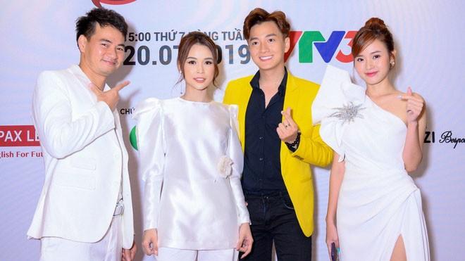 Nghệ sĩ Xuân Bắc, diễn viên điện ảnh Mi Du, ca sĩ – nhạc sĩ Ngô Kiến Huy và diễn viên - hot girl Sam