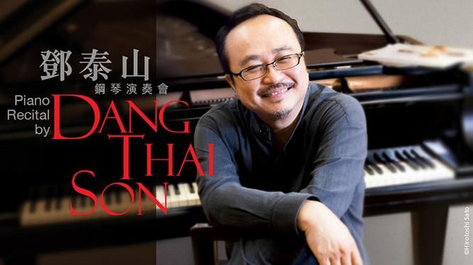 NSND Đặng Thái Sơn biểu diễn ở Hong Kong City Hall's Concert Hall tháng 5/2018 (Photo: Morning Post)