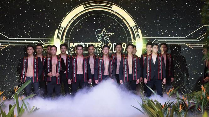 """Một số gương mặt trong 30 """"mỹ nam"""" hot nhất Mister Vietnam 2019 được giới thiệu chiều 18/8"""