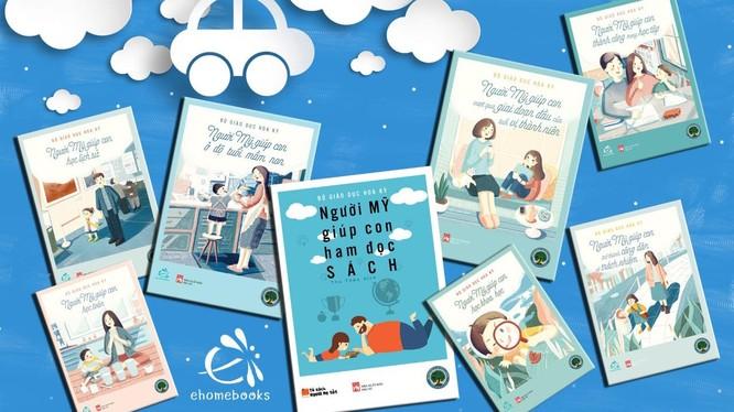 Bộ sách Helping Your Child của Bộ Giáo dục Hoa Kỳ chuyển tặng tới cha mẹ Việt